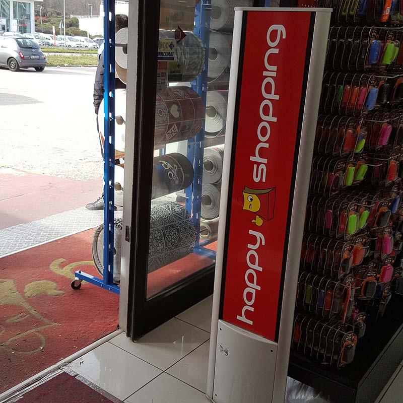 Happy Shopping  Antenne Antitaccheggio Checkpoint