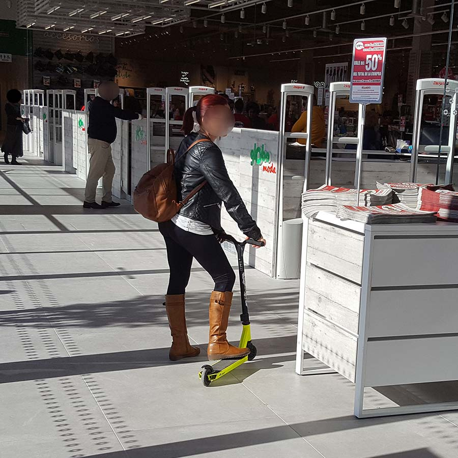 Globo 2 - Antenne Antitaccheggio Checkpoint